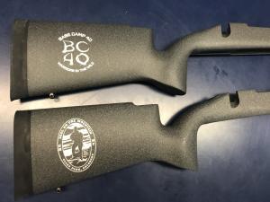 Precision Gun Stocks With Custom Logos