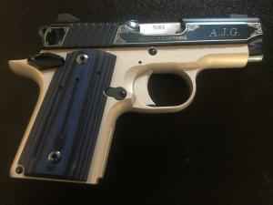 Custom Pistol Engraving