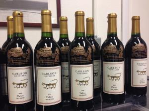 Custom engraved wine bottles