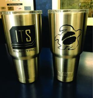 Stainless Yeti Cup Engraving