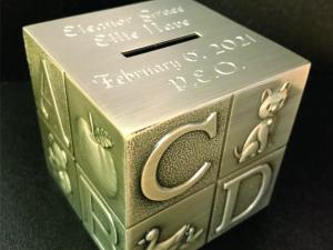 ABC Baby Bank Engraved
