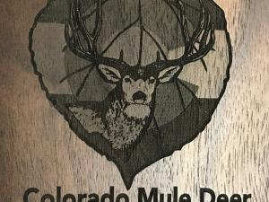 Laser Engraving On Black Walnut